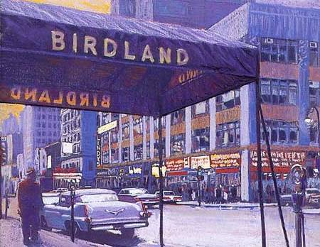 Birdland Jazz Club, NYC 1950s